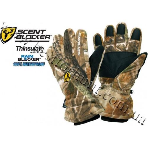 ScentBlocker® RainBlocker® Insulated Fleece Gloves Realtree AP®