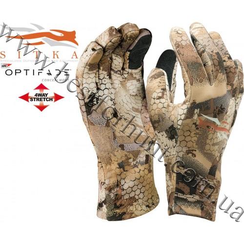 Sitka® Gear Gradient Glove GORE™ OPTIFADE™ Concealment Waterfowl Marsh