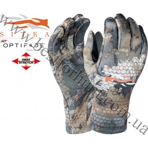 Sitka® Gear Gradient Glove GORE™ OPTIFADE™ Concealment Waterfowl Timber