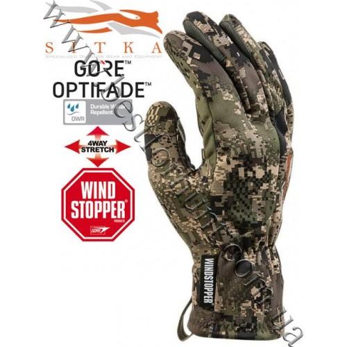 Sitka™ Gear Jetstream Glove GORE™ OPTIFADE™ Concealment Ground Forest