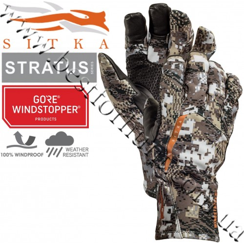 Sitka® Gear Stratus™ Glove GORE™ OPTIFADE™ Concealment Elevated II