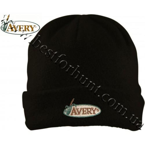 Avery Outdoors® Double Fleece Skull Cap Black
