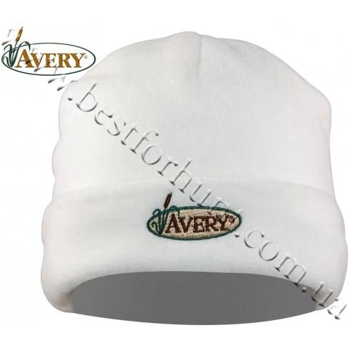 Avery Outdoors® Double Fleece Skull Cap White