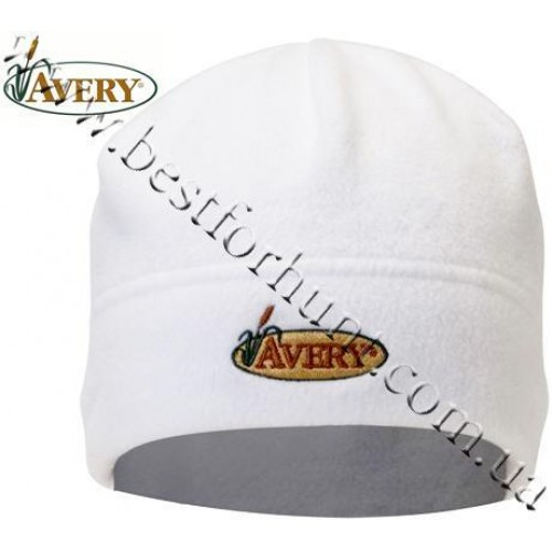 Avery Outdoors® Fleece Skull Cap White
