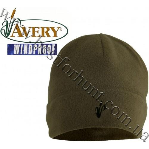 Avery Outdoors® Windproof Fleece Skull Cap Dark Moss