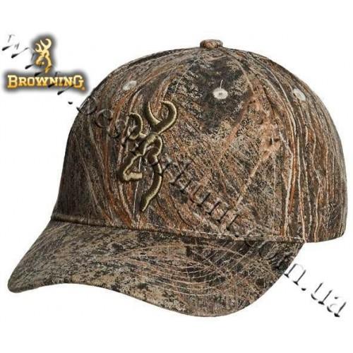 Browning® Camo 3D Buckmark Cap Mossy Oak® Brush®