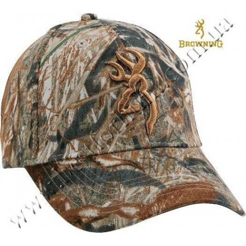 Browning® Camo 3D Buckmark Cap Mossy Oak® Duck Blind®