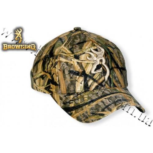 Browning® Camo 3D Buckmark Cap Mossy Oak® Shadow Grass®