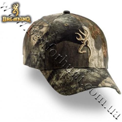 Browning® Camo 3D Buckmark Cap Mossy Oak® Treestand®