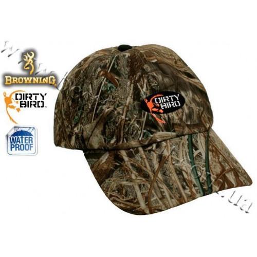 Browning® Dirty Bird™ Duck Back Waterproof Cap Mossy Oak® Duck Blind®