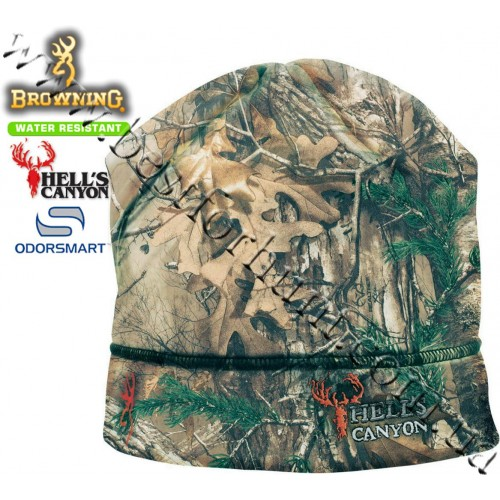 Browning® Hell's Canyon™ Beanie Hat Realtree Xtra®