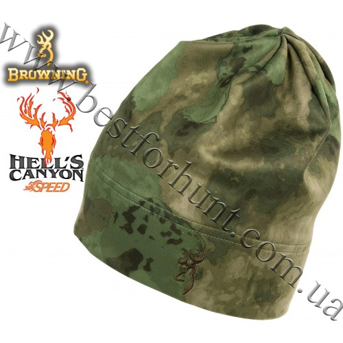 Browning® Hell's Canyon™ Speed Trailhead Beanie A-TACS FG Camo™