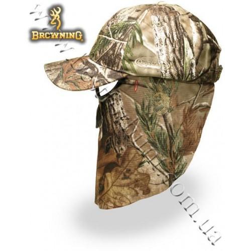 Browning® Quik Camo™ Face Mask Cap Realtree AP®