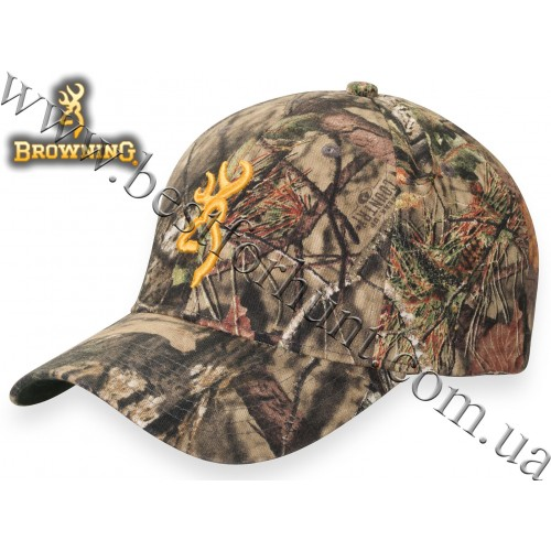 Browning® Rimfire 3D Buckmark Logo Cap Mossy Oak® Break-Up® COUNTRY™