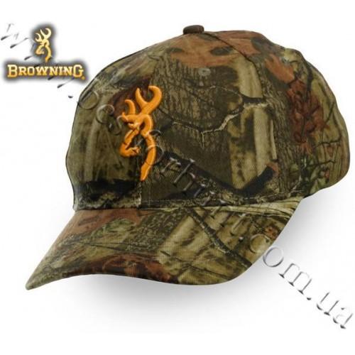 Browning® Rimfire 3D Buckmark Logo Cap Mossy Oak® Break-Up® Infinity™