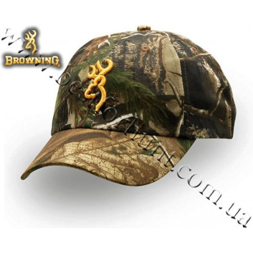 Browning® Rimfire 3D Buckmark Logo Cap Realtree Xtra®