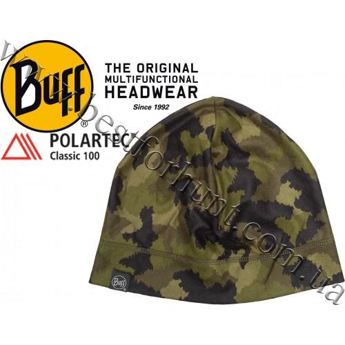 Buff® Polar Lightweight Fleece Hat Hunter Military