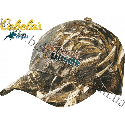 Cabela's Dri-Fowl™ Six-Panel Cap Realtree MAX-5®