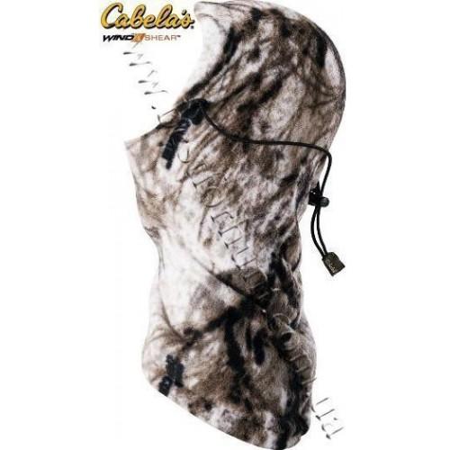 Cabela's Fleece Balaclava Seclusion 3D® Open Country® Winter
