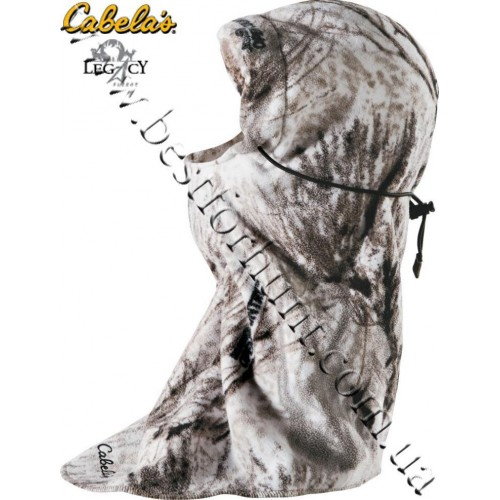 Cabela's Legacy™ Fleece Pro Balaclava Seclusion 3D® Open Country® Winter