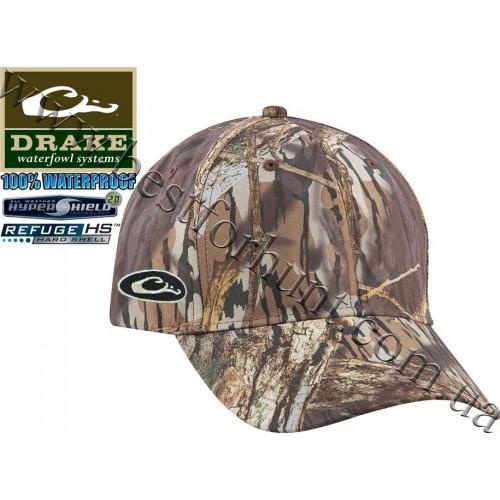 Drake Waterfowl® Waterproof Side Logo Cap Mossy Oak® Shadow Branch®