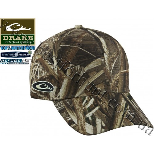 Drake Waterfowl® Waterproof Side Logo Cap Realtree MAX-5®