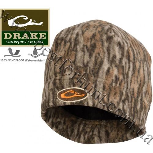 Drake Waterfowl® Windproof Fleece Stocking Beanie Mossy Oak® Bottomland®