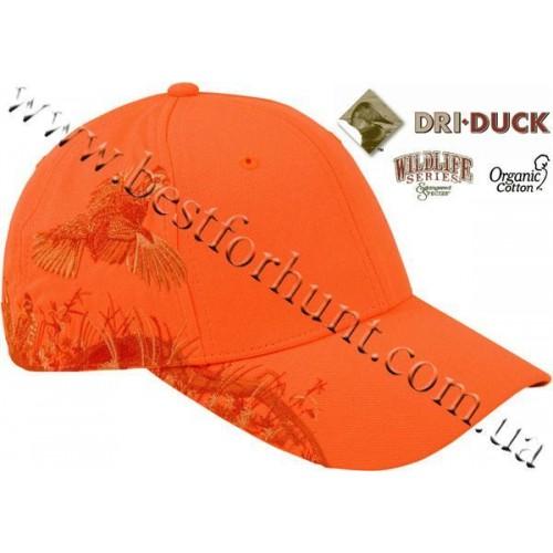 Dri Duck® Wildlife Series™ Blaze Orange Quail Ball Cap