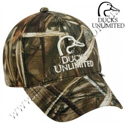 Ducks Unlimited® Camo Logo Cap Realtree MAX-4®
