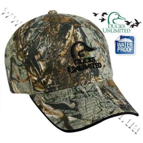 Ducks Unlimited® Camo Wax Logo Cap Mossy Oak® Duck Blind®