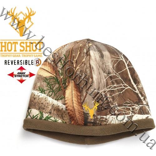 HOT SHOT® Gear Mustang Reversible Beanie Realtree Edge™-Brown