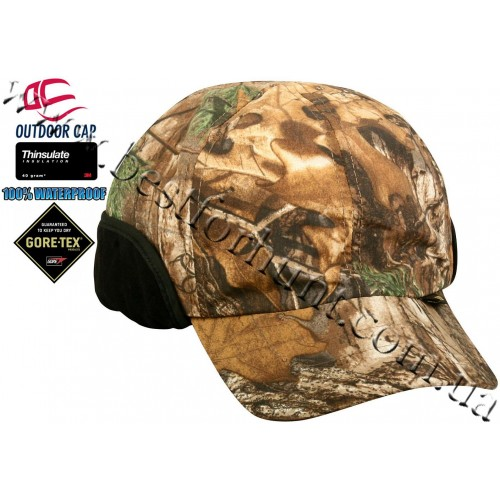 Outdoor Cap® Gore-Tex® Waterproof Insulated Earband Cap Realtree Xtra®