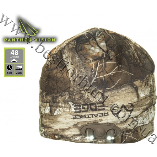 Panther Vision® Powercap™ LED Lighted Fleece Beanie Realtree Edge™