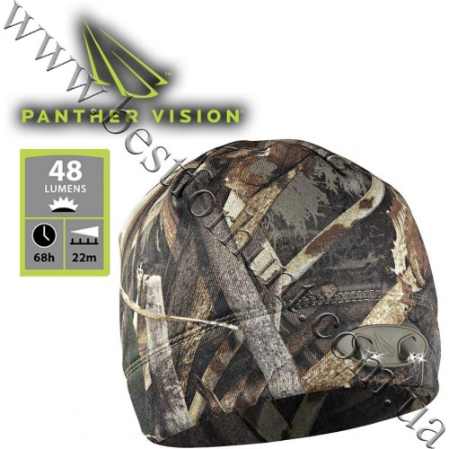 Panther Vision® Powercap™ LED Lighted Fleece Beanie Realtree MAX-5®