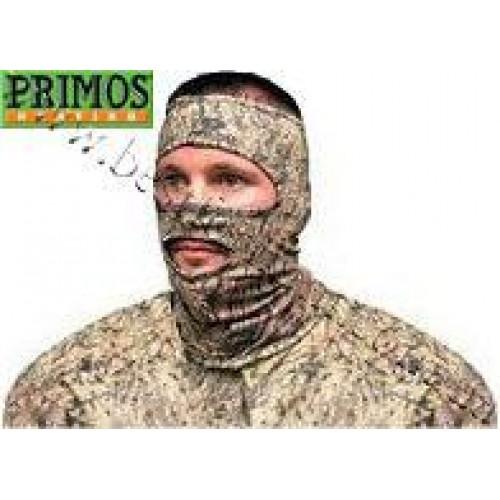 Primos® Stretch-Fit ¾ Face Mask Mossy Oak® Brush®