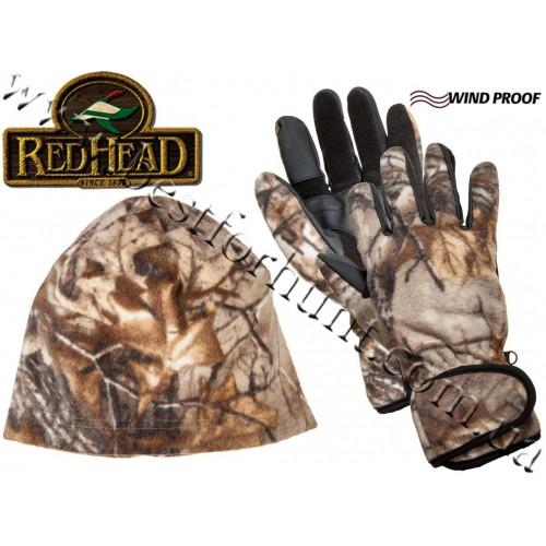RedHead® Fleece Gloves and Beanie Combo Realtree Xtra®