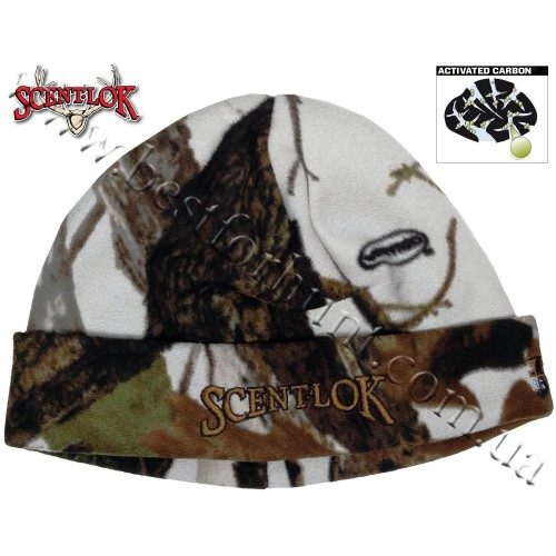 Scent-Lok® Timberfleece BBD Beanie Hat Vertigo™ Grey