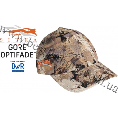 Sitka® Gear Cap with Side Logo GORE™ OPTIFADE™ Concealment Waterfowl Marsh