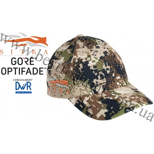 Sitka® Gear Cap with Side Logo GORE™ OPTIFADE™ Concealment in Subalpine
