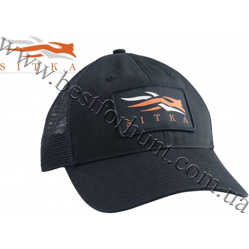 Sitka™ Gear Meshback Trucker Cap Black