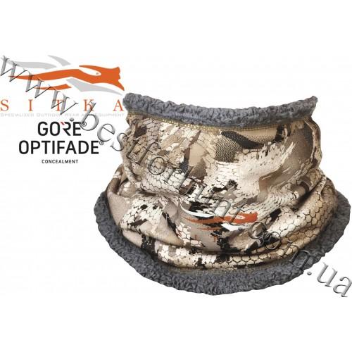 Sitka® Gear Neck Gaiter GORE™ OPTIFADE™ Concealment Waterfowl Marsh