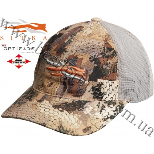 Sitka® Stretch Fit Cap GORE™ OPTIFADE™ Concealment in Waterfowl Marsh