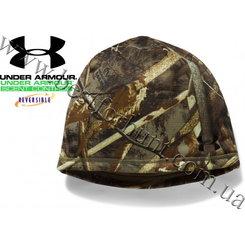 Under Armour® Reversible Fleece 2.0 Beanie Realtree MAX-5®-Brown