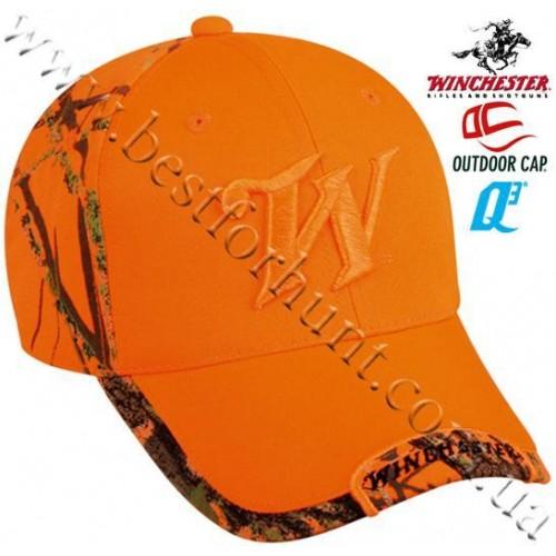 Winchester® Logo Blaze Orange Ball Cap Mossy Oak® Blaze™