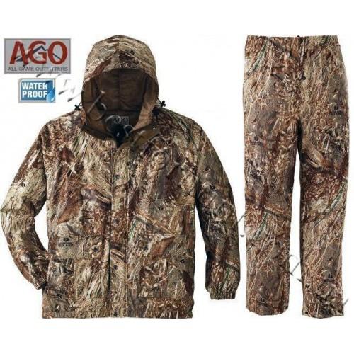A.G.O. Waterfowl Rainwear Mossy Oak® Duck Blind®
