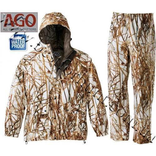 A.G.O. Waterfowl Rainwear Seclusion 3D® Backwaters® Snow