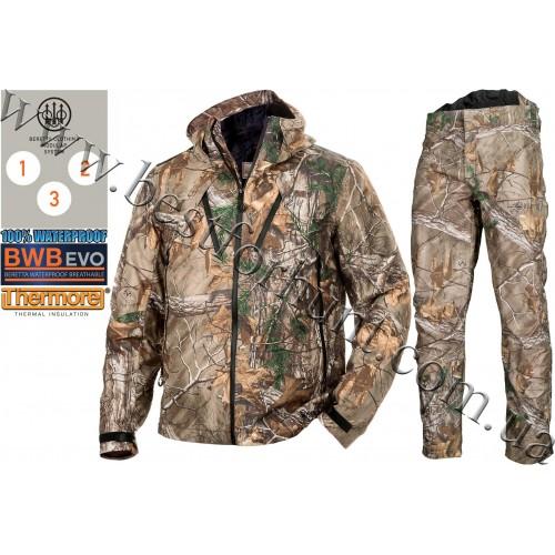 Beretta® Insulated Active Jacket GU481 Realtree Xtra® with Beretta® Light Active Pants CU222 Realtree Xtra®