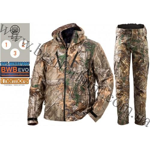 Beretta® Insulated Active Jacket GU481 Realtree Xtra® with Beretta® Light Static Pants CU242 Realtree Xtra®