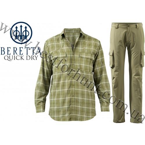 Beretta® Quick Dry Shirt and Cargo Pants Hunting Set