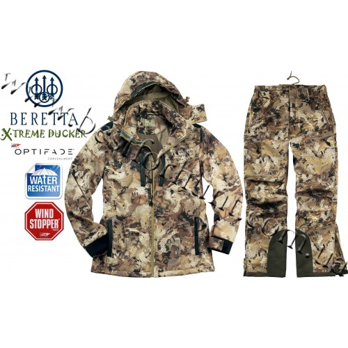 Beretta® Xtreme Ducker™ Soft Shell GORE™ OPTIFADE™ Concealment Waterfowl Marsh